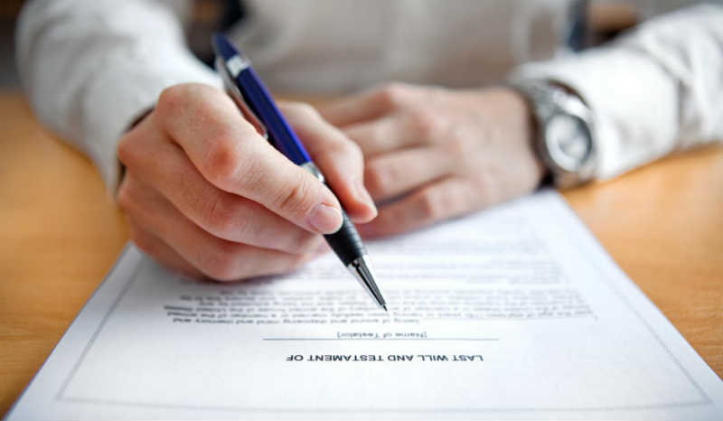 Making Your First Will